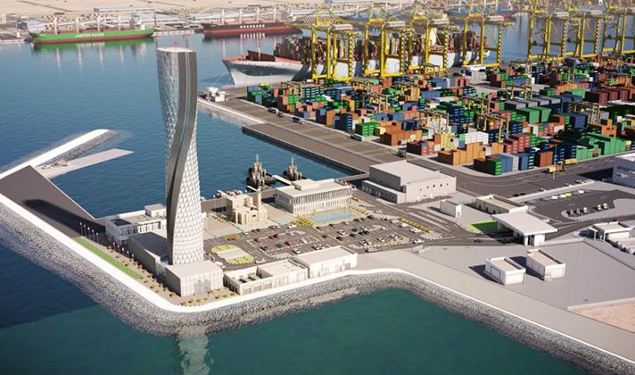 New Doha Port